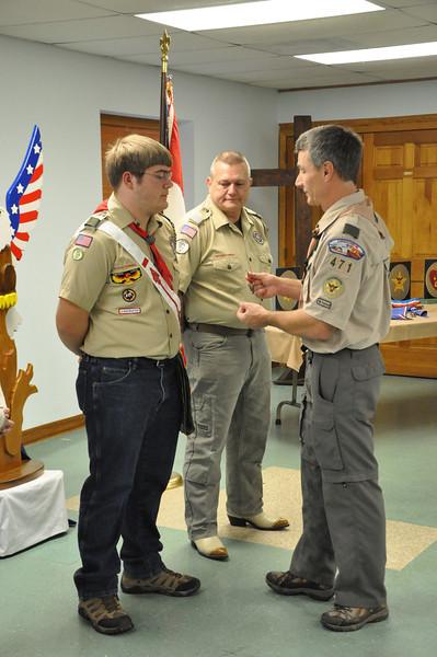 Wesley's Eagle Scout Presentation