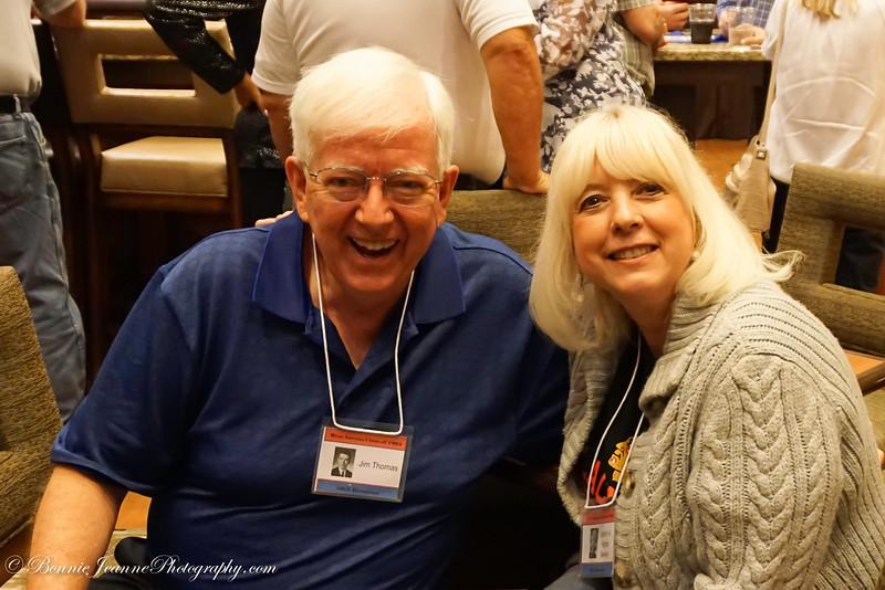 Jim Thomas and Joanne Fox