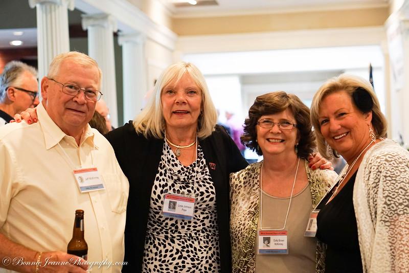 Linda Johnson, Dotty Brown, Connie Drinkall