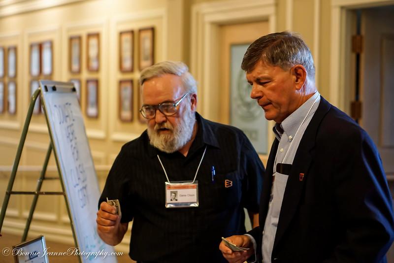 Gene Olson and Bill Pfeiffer