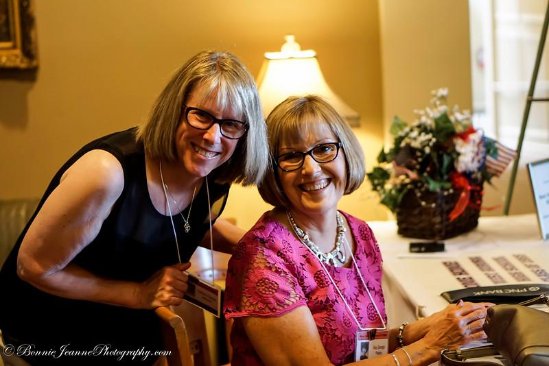 Cathey Popdan and Kay Savage