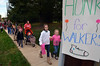Students and family members head for West Broad Street Elementary School.  (The Reporter/Geoff Patton)