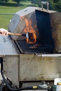 and Flaming Burgers!
