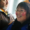 "Kameda's face reads, ""CURE ALS.""<br /> <br /> Photo by Jessica Shirley-Donnelly, JRSD Photography"