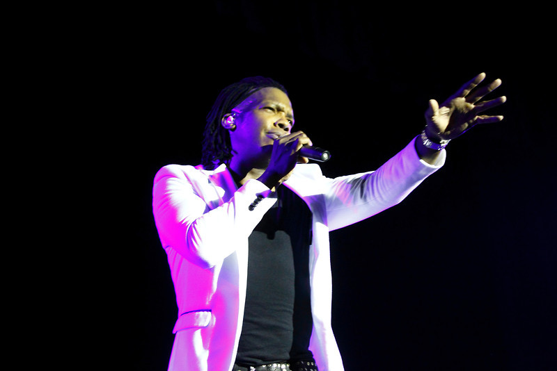 "2014 April 24 Westbrook,ME-Michael Tait performs the song ""That Home"", a tribute to his mother, who passed away in 2013.  The Newsboys were headlining the spring ""We Believe"" Tour, which also featured opening acts 7th Time Down and Rapture Ruckus.  Tait joined the band in 2010 and has recorded 4 of the band's 16 projects.  ""Restart"", their latest project, was released September 10 of last year."