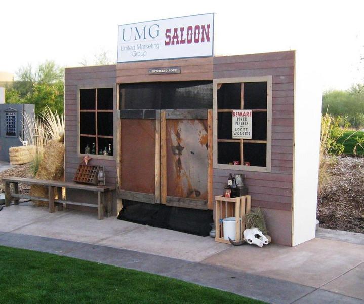 Saloon Vignette - Custom Signage