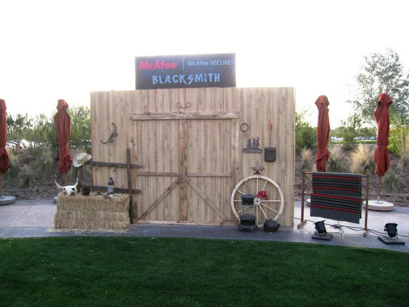 Blacksmith Vignette - Custom signage