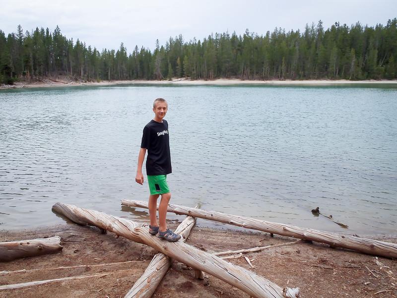 Oskar at Crystal Lake