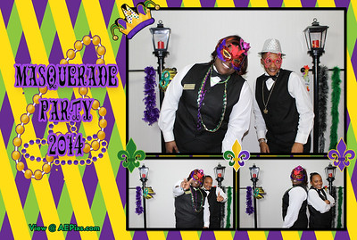 Westin & Sheraton Masquerade Party 2014
