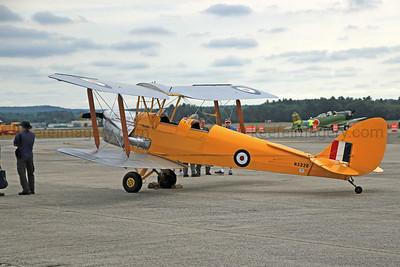 DeHavilland DH 82A T-7602 Tiger Moth
