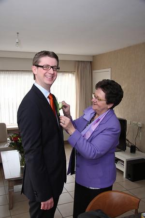 Wettelijk huwelijk Nele en Kristof