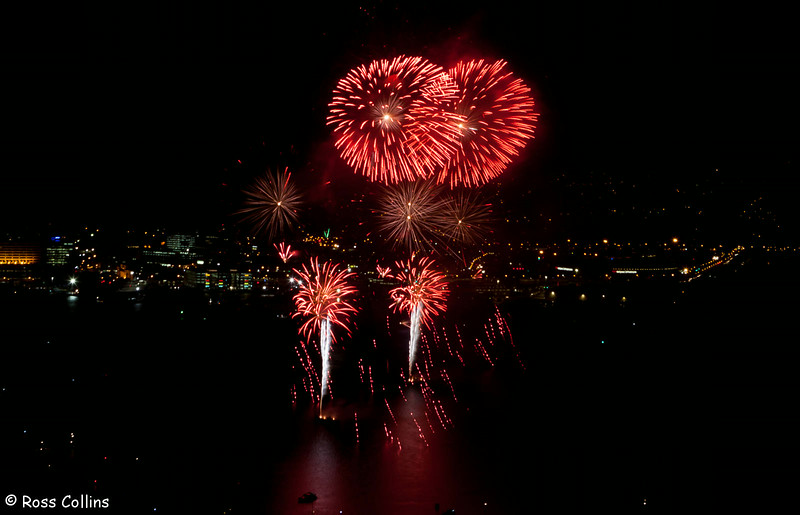 Guy Fawkes fireworks display, Wellington Harbour, 5 November 2012