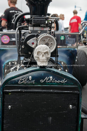 Whangamata Beach Hop 2012. Blown Hotrod.