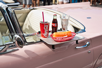 Whangamata Beach Hop 2012. The iconic brand and products of the era.