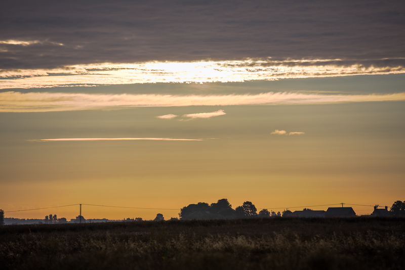 Fenland sunrise