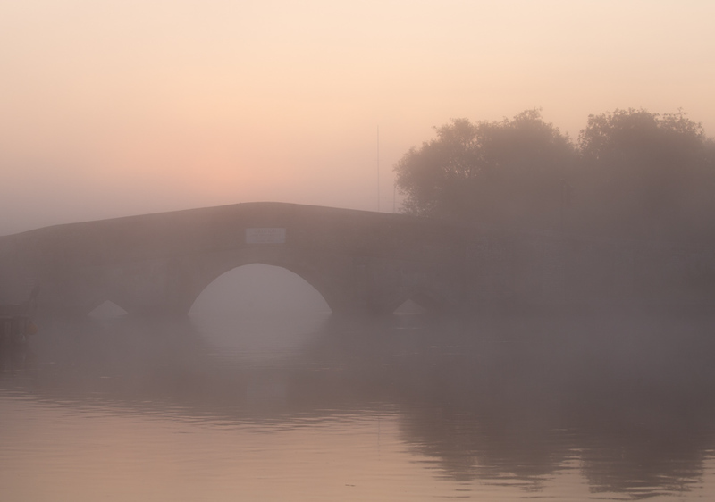 14 July 2018 - Sunrise at Potter Heigham bridge
