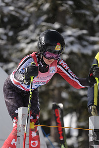 U16 Super G Girls - Forget Arianne - Top Canadian.  2nd place