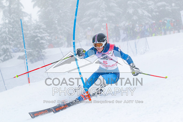 Britt Richardson - Canada, U16 girls SL, 1st place winner