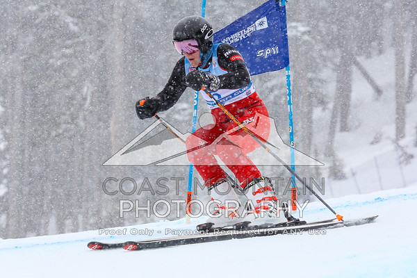 Whistler Cup 2019, Super G - Men, U16, Alexis Barbe, Canada, 2nd place, Top Canadian