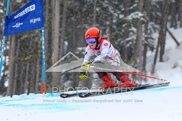 Whistler Cup 2019, Super G - Women, U16, Arianna Forget, Canada, 1st Place, Top Canadian