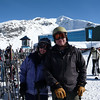 Paula and Will at Blackcomb