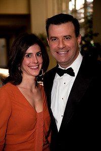 Husband and wife David Shuster and Julianna Goldman. Both work as news correspondents in Washington; she reports on the White House and Congress for Bloomberg News, and he on politics for MSNBC.