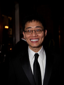 Comedian Joe Wong was the featured entertainer at the event