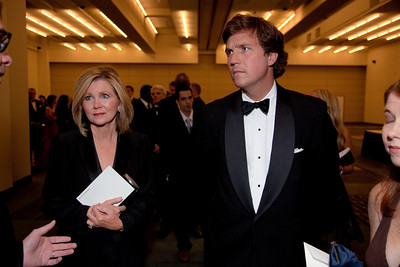 Tucker Carlson is a political news correspondent and commentator for the Fox News Channel. He is a senior fellow of the Cato Institute. He is editor-in-chief of the The Daily Caller.