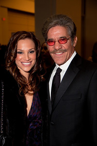 Geraldo Rivera hosts the newsmagazine program Geraldo at Large, and appears regularly on Fox News Channel, with wife Erica Levy.