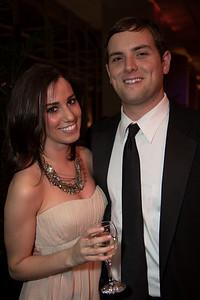 Victoria Lewis and Luke Russert of NBC