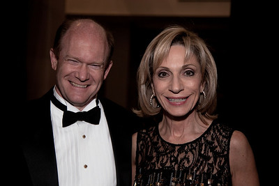 Rep. Chris Coons (D-DE) Andrea Mitchell is an American television journalist, anchor, reporter, and commentator for NBC News based in Washington, D.C.. She is the NBC News Chief Foreign Affairs Correspondent. She anchors Andrea Mitchell Reports airing at 1pm-2pm ET weekdays on MSNBC.