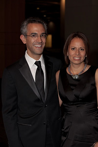 Richard Wolffe with his wife, .Paula Cuello.  Richard  Wolffe is a journalist, political analyst on MSNBC, and author of the Barack Obama book Renegade: The Making of a President (Crown, June 2009).