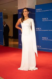 White House Correspondents' Association Dinner; Simone Boyce