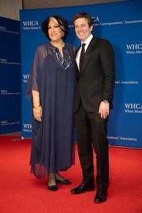 White House Correspondents' Association Dinner; Tammy Haddad; Jeff Glor