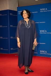 White House Correspondents' Association Dinner; Tammy Haddad