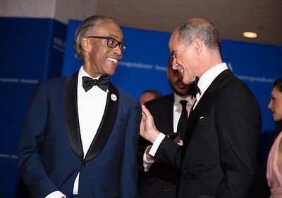 Al Sharpton, Michael Kelly, White House Correspondents' Dinner