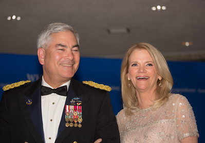 General John F. Campbell, Martha Raddatz, White House Correspondents' Dinner