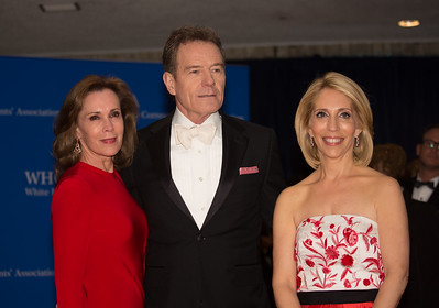 Dana Bash, Bryan Cranston, White House Correspondents' Dinner