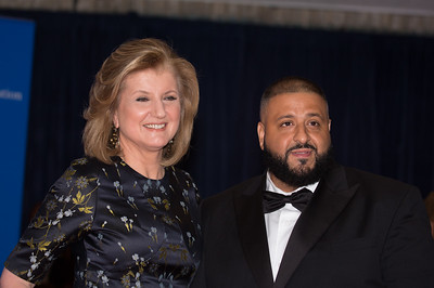 Arianna Huffington, DJ Khaled, White House Correspondents' Dinner