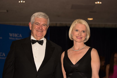 Newt Gingrich, Callista Gingrich, White House Correspondents Dinner