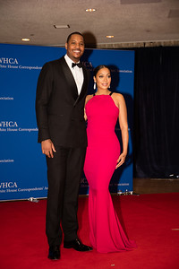 Carmelo Anthony, White House Correspondents Dinner