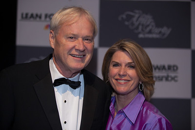 Chris Matthews and wife Kathleen Matthews