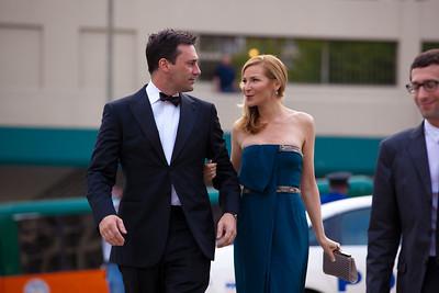 "Jon Hamm (Golden Globe winning actor from AMC's drama series, ""Mad Men""); Jennifer Westfeldt (actress and screenwriter)"