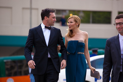 "Jon Hamm (Golden Globe winning actor from AMC's drama series, ""Mad Men""); Jennifer Westfeldt (actress and screenwriter)"
