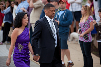 Michelle Rhee and Kevin Johnson