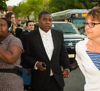 Tracy Morgan (SNL) arrives for WHCD