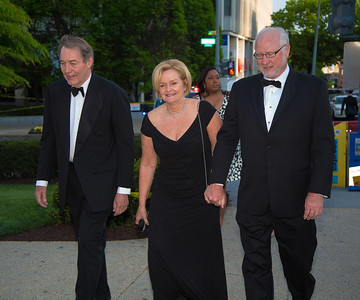 Carlie Rose (PBS), Sen. Clair Mc Caskill (D-MO) and her husband Joseph Shepard
