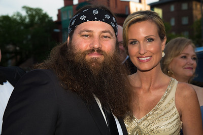 Korie and Willie Robertson (Duck Dynasty) Duck Dynasty is a reality television series on A&E.