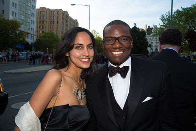 Namrata Kolachalam and Kevin Lewis, both of the White House Lewis is Director of African American Media