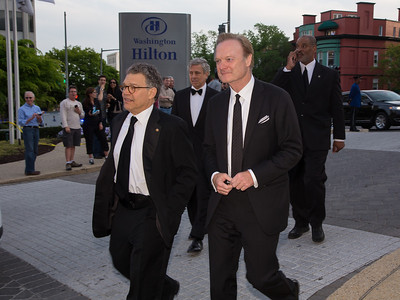 Sen. Al Frankin (D-MN) and Lawrence O'Donnell (MSNBC anchor)